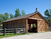 Farm Implement Shed